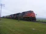 CN 407 at Memramcook June 27 2008
